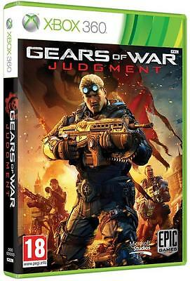 Gears of War Judgement game for Xbox 360 PAL