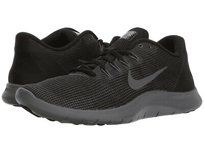 purchase cheap 39633 b56f4 Nike Women s Flex 2018 RN Black Grey AA7408-002 Running Shoes Multi Size NEW