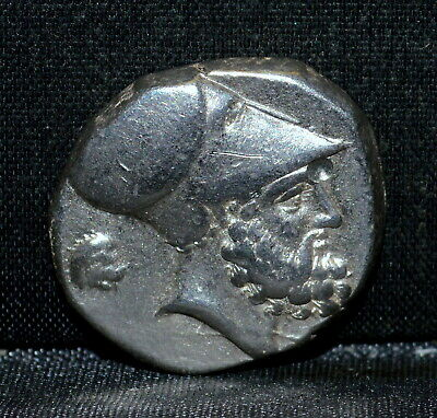 350-330 Bc Greek Ancient Coin ✪ Lucania Metapontum ✪ Silver Stater Vf ◢Trusted◣