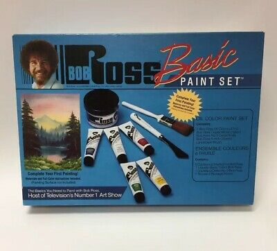 BOB ROSS BASIC PAINT SET  Opened Unused R6505 MARTIN F. WEBER CO MADE IN USA