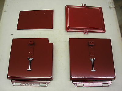 Ih / Farmall / Super A / 100/ 140/ 200 / New/ Battery Box With Lid / # 19-11-18