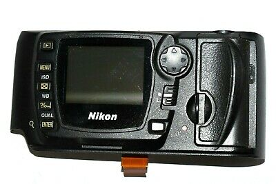 Original Nikon D70 Back Case Cover With Lcd Repair Parts