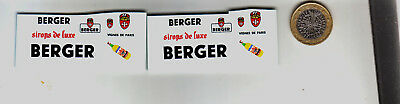 decals decalcomanie deco berger pour peugeot 203 berger 1/43