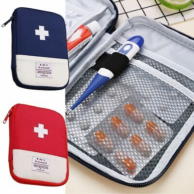 Camping First Aid Kit Pouch Medicine Emergency Medical Survival Tools Storage