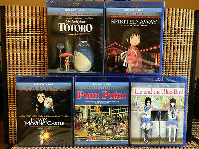 Studio Ghibli/Hayao Miyazaki/GKids Anime Collection (10-Disc Blu-ray/DVD)