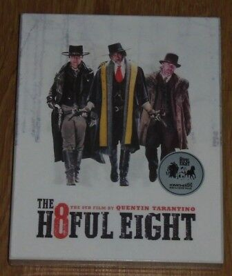 The Hateful Eight - BLU RAY - STEELBOOK. Kimchidvd (Lenticular) New & Sealed.