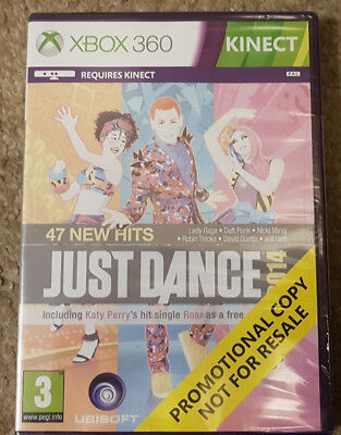 Microsoft Xbox 360 Game Just Dance 2014 Brand New Sealed Promo Version