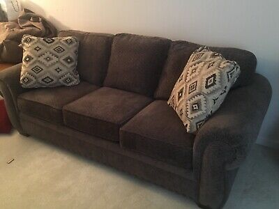 Groovy Broyhill Couch With Matching Chairs Green And Creme Pabps2019 Chair Design Images Pabps2019Com