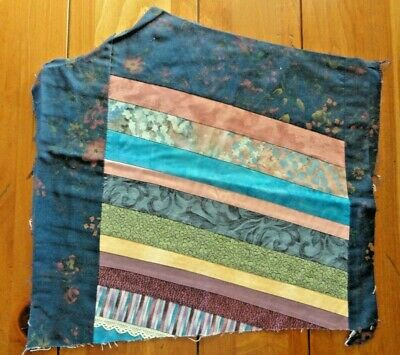 Small Vintage Stripe Patch quilt cutter piece