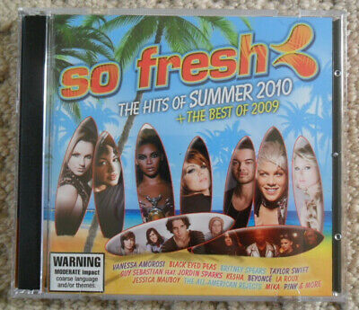 So Fresh - The Hits Of Summer 2010 + The Best Of 2009 - 2CD COMPILATION [USED]