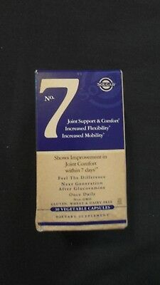 Solgar No. 7 Joint Support & Comfort 30 Vegetable Capsules Once Daily