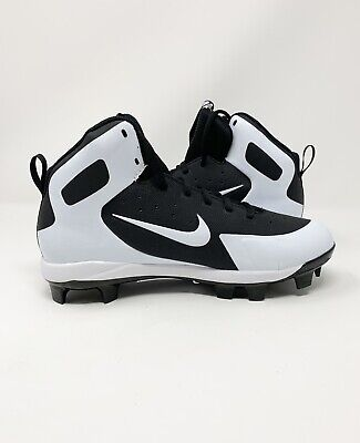 official photos e43ed 89f0c New Nike Alpha Huarache Pro Mid MCS Molded Baseball Cleats 923433-011 Size 8