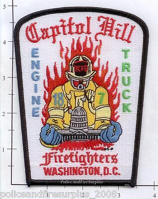Washington DC - Engine 18 Truck 7 District of Columbia Fire & EMS Patch