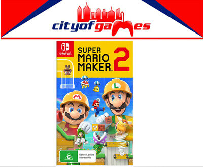 Super Mario Maker 2 Nintendo Switch Brand New In Stock