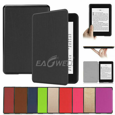 For Amazon Kindle Paperwhite 2018 6inch Ultra Slim Leather Case Smart Flip Cover