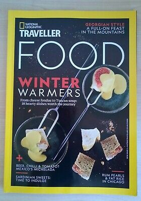 National Geographic Traveller Food Magazine 2018 Issue 3