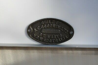 Goodwins rail builders Plate
