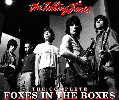 The Rolling Stones - COMPLETE FOXES IN THE BOXES STUDIO 2CD - Limited & Numbered