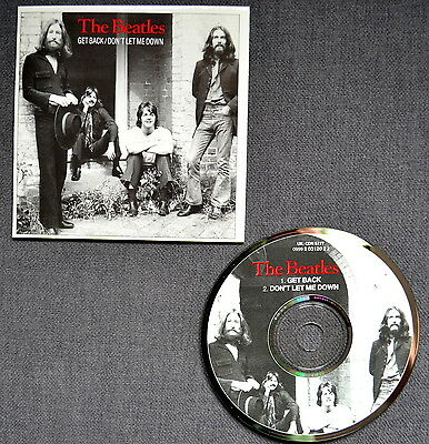 The Beatles - CD SINGLE 1992 - GET BACK / DON'T LET ME DOWN - RARE