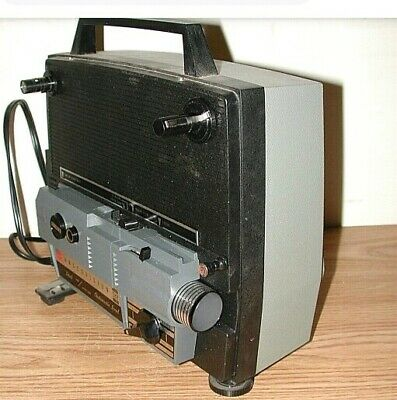 GAF MODEL 388 Dual 8 Movie Projector Refurbished With Spare