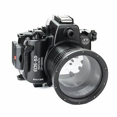 Seafrogs 40m/130ft Underwater Camera Housing for Canon EOS 5D Mark III 5D IV