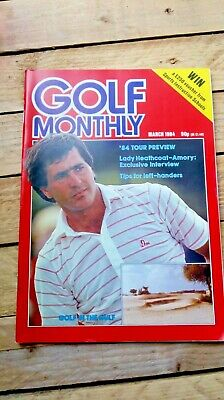 2 x Golf Monthly Magazine March and May 1984