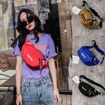 Unisex Waist Bum Bag Pouch Belt Pack Messenger Sport Travel Fanny Money Wallet