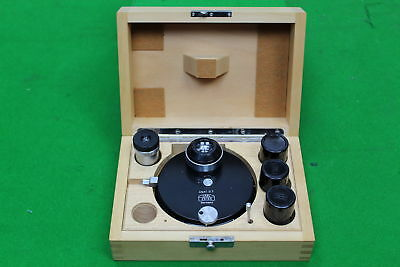 Carl Zeiss Phase-Contrast Condenser I S w/Zeiss Ph1, Ph2, Ph3 Microscope