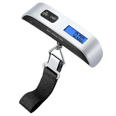 50KG Digital Weighing Luggage Scales Hand-held Electronic Travel Suitcase Bags