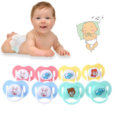3Pcs/Set Silicone Baby Pacifier Nipple Soother Infant Teether With Pacifier Clip