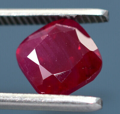 4.7ct Natural Mozambique Pigeon Blood Red Ruby Faceted Cut Uqhb312 Fine Jewelry Jewelry & Watches