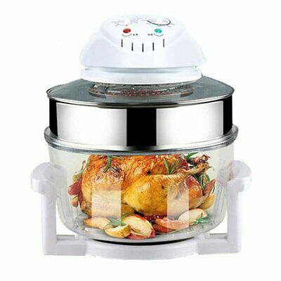 17 L Halogène Air Fryer Low Fat Fast Cook Healthy four 12 L + 5 L capacité FR