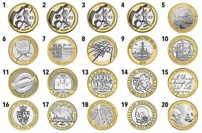 £2 Coin, Two Pound Coin Special Collectible, 2 Pounds Commemorative Coins Hunt