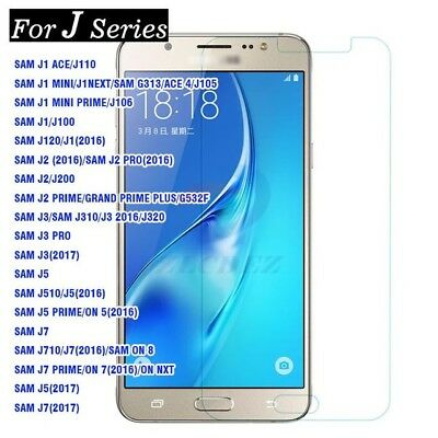 Tempered Glass Screen Protector For Samsung Galaxy J3 J5 J6 A3 A5 A7 2016 /2017