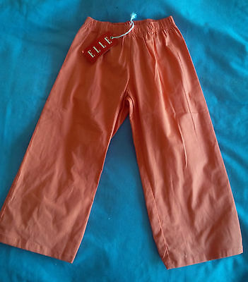 Girl's Designer Coral Cotton Blend Trouser Age 3 BNWT RRP £18.99