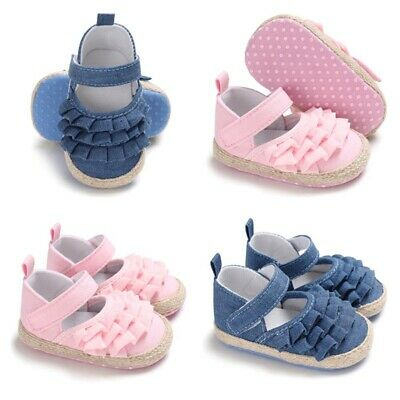 Cute Infant Baby Kids Girl Toddler Bowknot Cotton Soft Prewalker Shoes Gift Hot