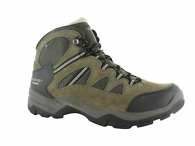 Hi-Tec Bandera II WP Mens Lace Up Waterproof Walking Hiking Boots Brown
