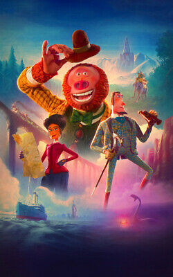 Missing Link Movie Ad Art Print Poster