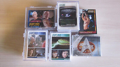Star Trek The Next Generation - TNG - 6 x Tradingcard Set - Skybox / Rittenhouse