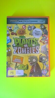 Plants vs zombies  PC and mAc Game free postage