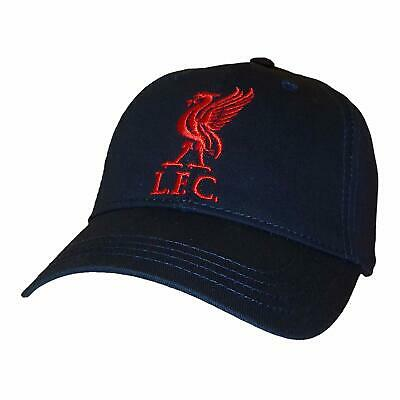 LIVERPOOL NAVY CAP BIRTHDAY FATHERS DAY CHRISTMAS GIFT Anfield Football
