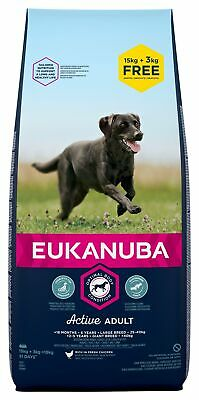18 kg EUKANUBA Adult Large Breeds Chicken