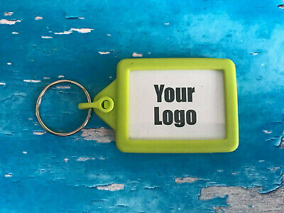 Personalised Soft Touch Keyring - Add your logo / Club badge - Double sided