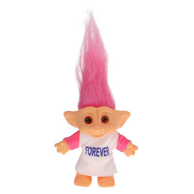 Vintage Lucky Troll Doll Mini Figures Toy for Cake Toppers Party Favors #1
