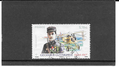 France 2017.georges Guynemer (1894-1917) .timbre Gum Seal Rond.pa.n No 81