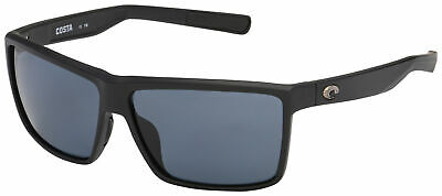 27d44955a3 NEW COSTA DEL Mar Rockport Polarized Sunglasses 580P Matte Black ...