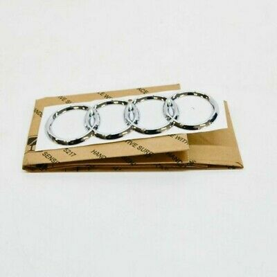 Audi A6 S6 C6 Rear Trunk Lid Emblem Badge 4B58537422ZZ NEW GENUINE