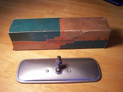 NOS GM 39-59 rearview mirror Chevy GMC Pontiac Buick truck car pickup rear view