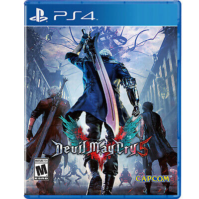 Devil May Cry 5 PS4 [Factory Refurbished]