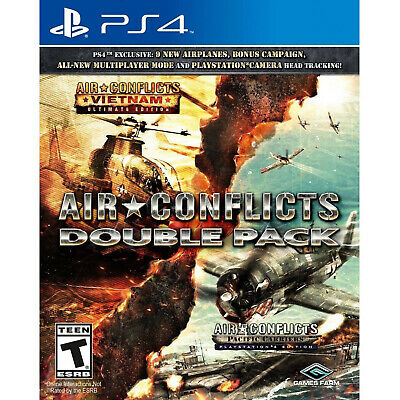 Air Conflicts: Double Pack PS4 [Factory Refurbished]